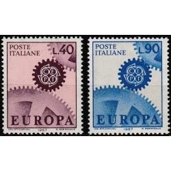 Italy 1967. CEPT: Cogwheel...