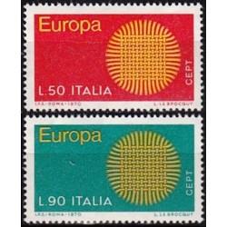 Italy 1970. CEPT: Stylised...