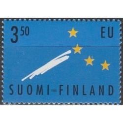 Suomija 1995. Įstojimas į...