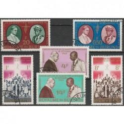 Burundi 1964. Popes