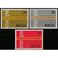 Malta 1971. CEPT: Stylised...