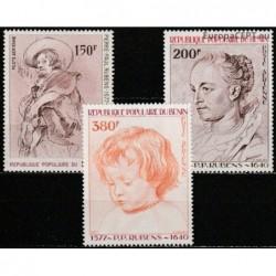 Benin 1977. Rubens paintings