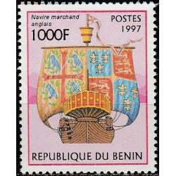 Benin 1997. Sailing ships