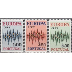 Portugalija 1972. Europa CEPT