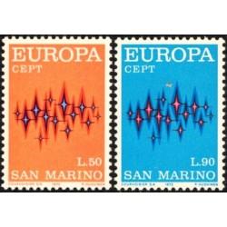 San Marino 1972. Europa CEPT