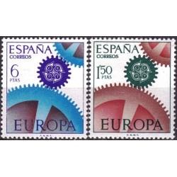 Spain 1967. CEPT: Cogwheel...