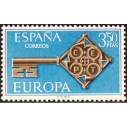 Spain 1968. Key with CEPT...