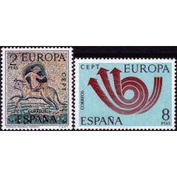 Spain 1973. CEPT: Stylised...