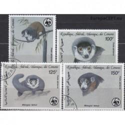 Comoros 1987. Monkeys
