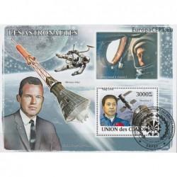 Comoros 2008. Astronauts