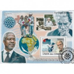 Comoros 2008. Nobel Prize...