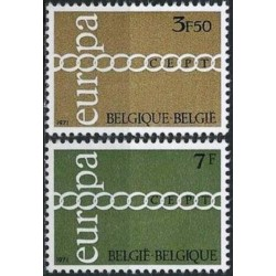 Belgija 1971. CEPT:...