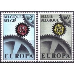 Belgija 1967. CEPT:...