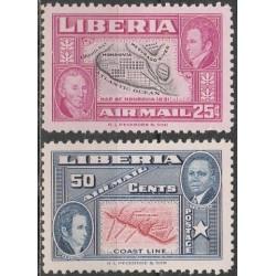 Liberia 1952. Governor of...