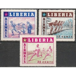 Liberia 1955. Sports...