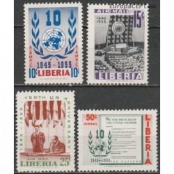 Liberia 1955. United Nations