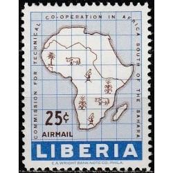 Liberia 1960. African...