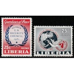 Liberia 1961. UN Security...