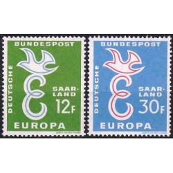 Saarland 1958. Cooperation...