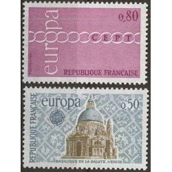 France 1971. CEPT: Stylised...