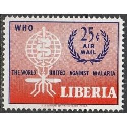 Liberia 1962. Anti-malaria...