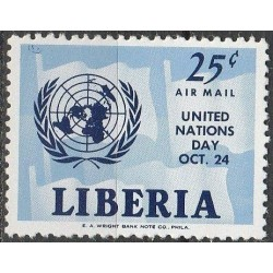 Liberia 1962. United Nations