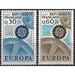 Prancūzija 1967. CEPT:...