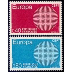 France 1970. CEPT: Stylised...