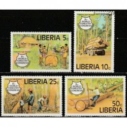 Liberia 1978. Forest industry