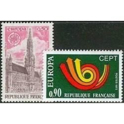 France 1973. CEPT: Stylised...