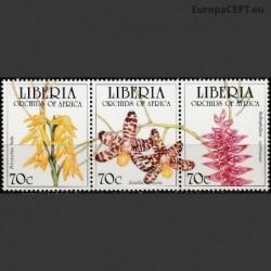 Liberija 1995. Orchidėjos