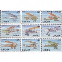 Liberia 1999. Aircrafts