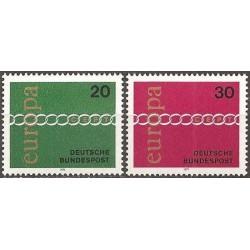 Vokietija 1971. CEPT:...