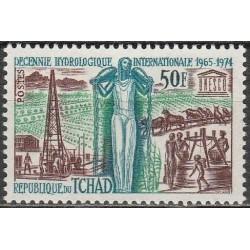 Čadas 1968. Hidrologija