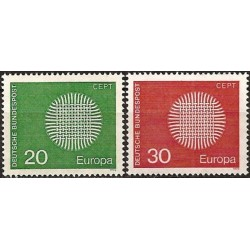 Vokietija 1970. CEPT:...