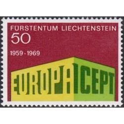 Liechtenstein 1969. EUROPA...