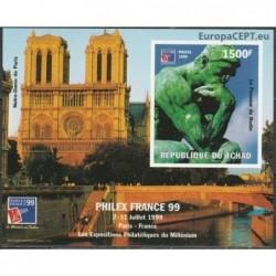 Chad 1999. Sculpture, Notre...