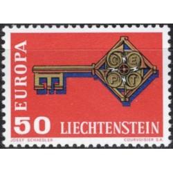 Liechtenstein 1968. Key...