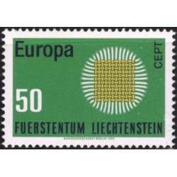 Lichtenšteinas 1970. CEPT:...