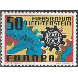 Liechtenstein 1967. CEPT:...