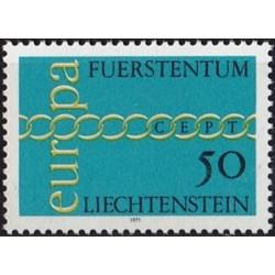Liechtenstein 1971. CEPT:...