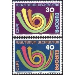 Liechtenstein 1973. CEPT:...