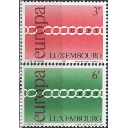 Luxembourg 1971. CEPT:...