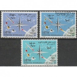 Libya 1965. Meteorology