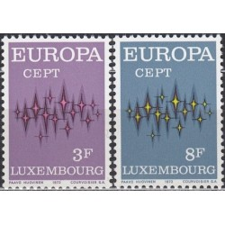 Luxembourg 1972. Europa CEPT