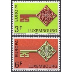 Luxembourg 1968. Key with...