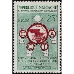 Madagaskaras 1960. Afrikos...