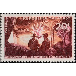 Madagaskaras 1964. Skautai