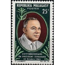 Madagascar 1965. President...