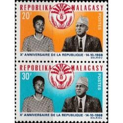 Madagascar 1968. National...